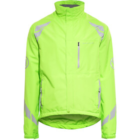Endura Luminite DL Cykeljacka Herr hi-viz green/reflective